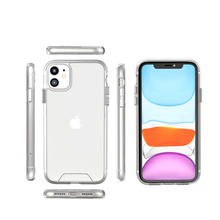 Best Selling Clear Space Crystal Hard Back Shockproof Phone Case For iPhone 11 mobile case cover