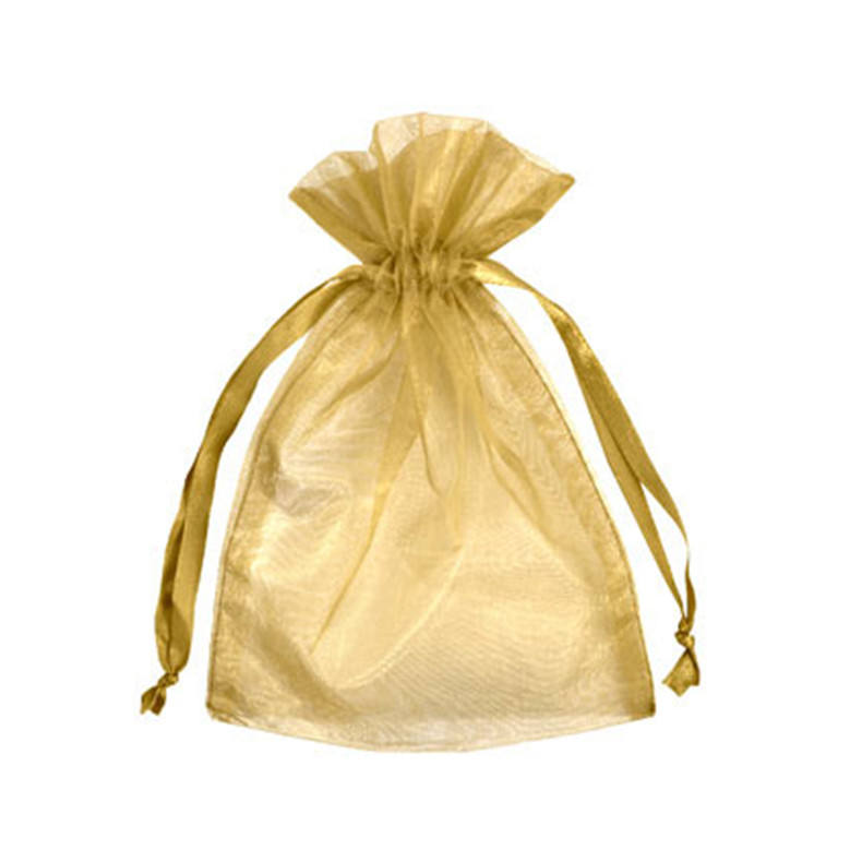 sheer personalized wholesale clear custom drawstring gift organza fabric bags