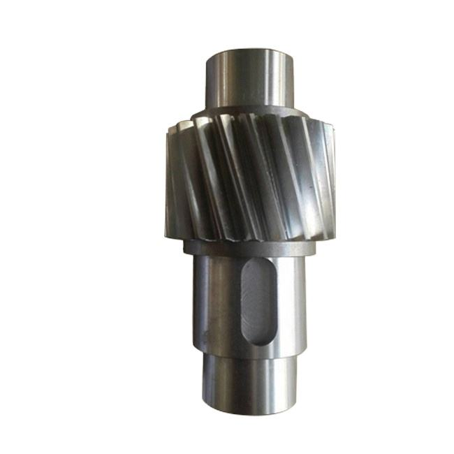 a'=122.55 mm, m=2.25mm SAE 4320 Helical Shaft Gear for Mining Equipment