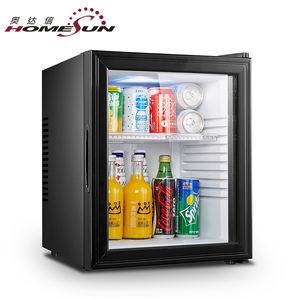 De frost de energía libre de bebida botella de Coca-Cola Puerta de vidrio transparente minibar mini bar nevera