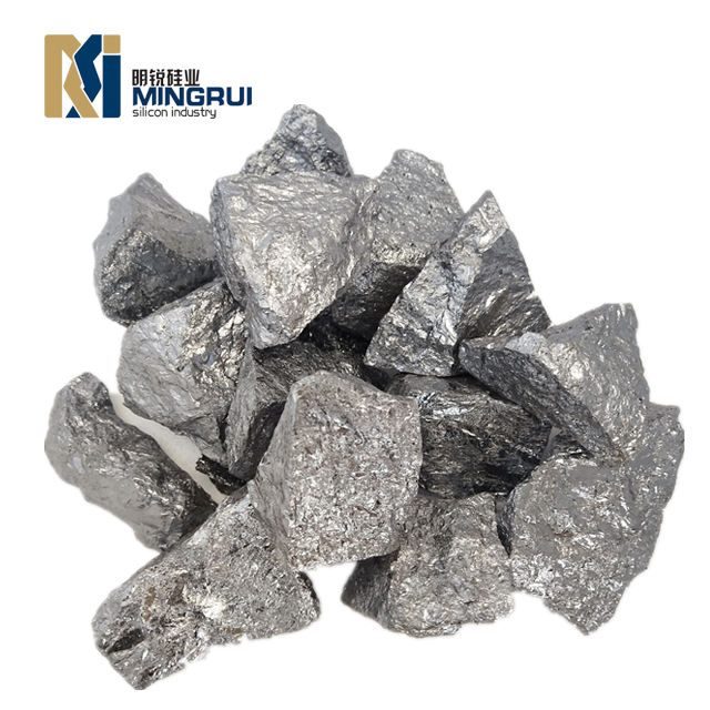 metal silicon 411 grade for aluminum plant