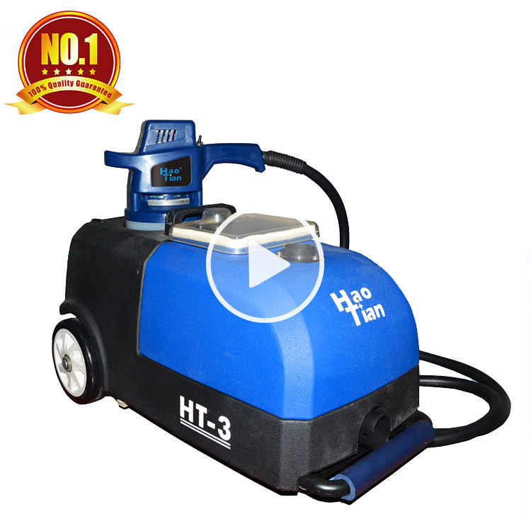 Cleaning machinery factory wholesale sofa carpet washing cleaner HT-3 automatic dry foam sofa cleaning machine