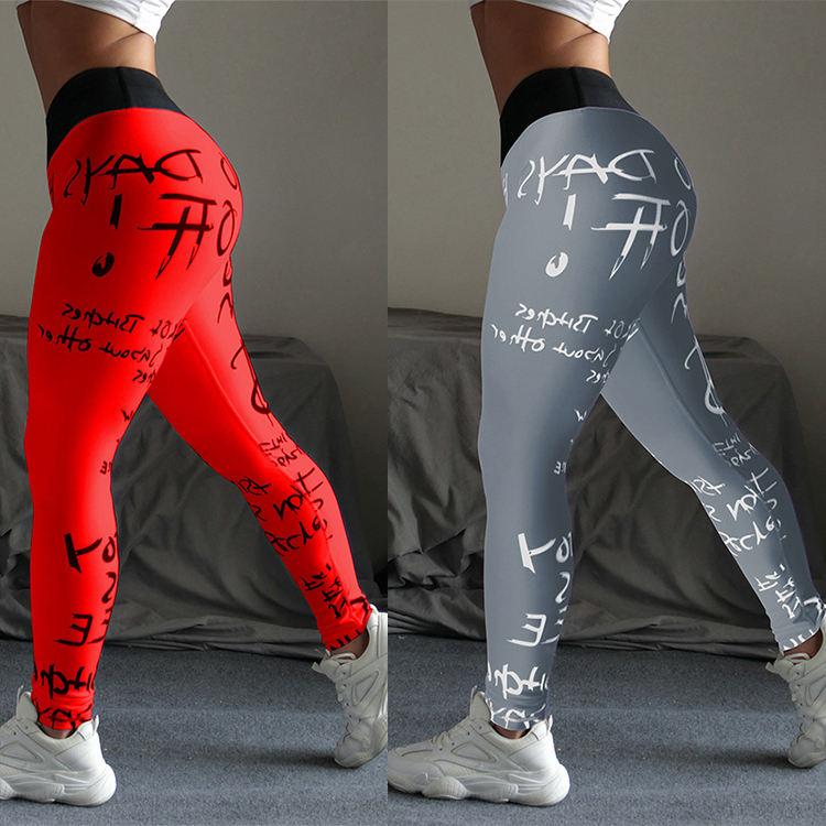OEM plus size Custom plus size Sport Yoga Pants printed Leggings Fitness yoga wear,yoga leggin FOR WOMEN