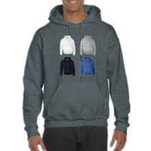 2019 OEM print logo men plain hoodies blank hoodies manufacturer with hood