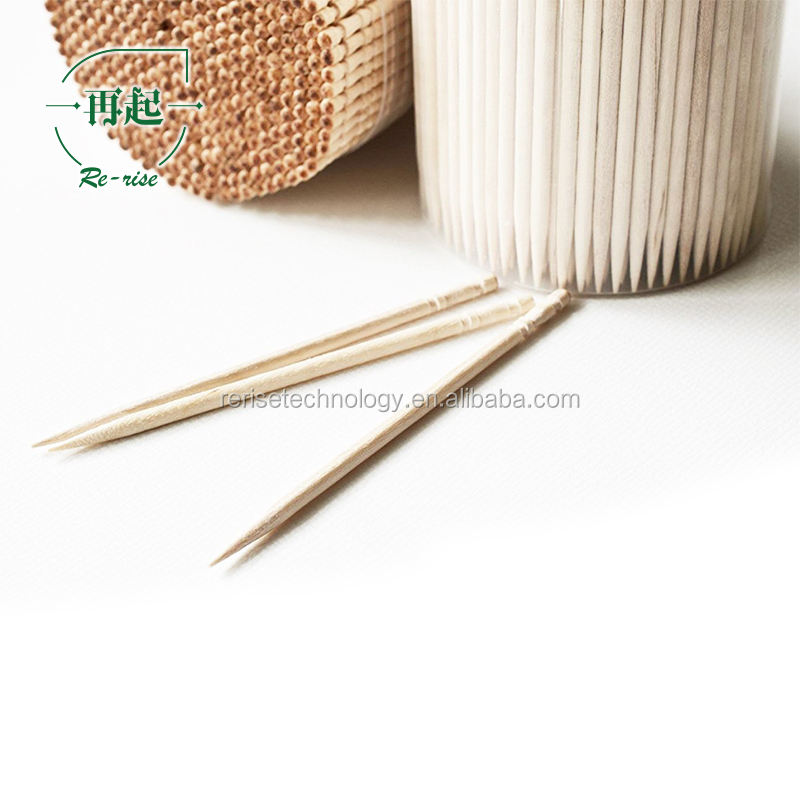 Factory of tooth picks from China disposable wooden set for home