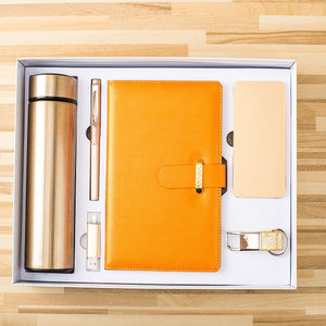 High quality senior gold business gift sets support customization