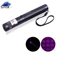 200mW 532nm Output Wavelength 303 Green Laser Red Laser Purple Laser Pointer with Twinkling Star