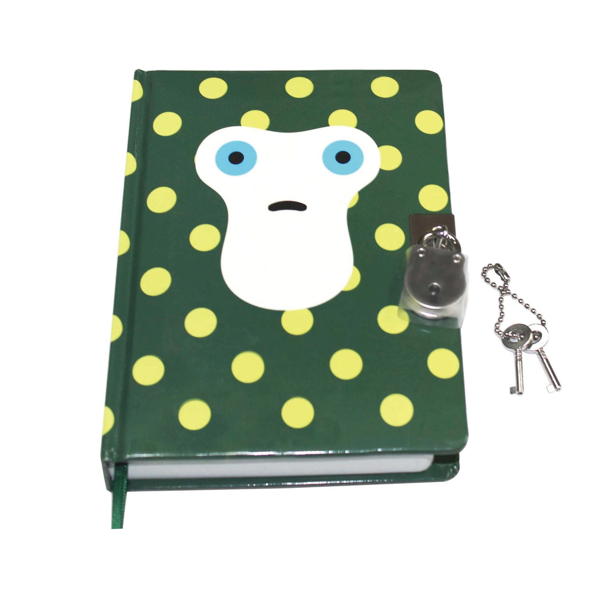 A5 Hardback Cover Eenhoorn Secret Diary Journal Notebook met Slot/Custom Boek en Pen Set voor Meisje