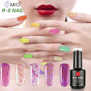 Free sample RS Nail heyuan factory uv gel polish cheese gel nail polish 8ml/10ml/15ml customized private label
