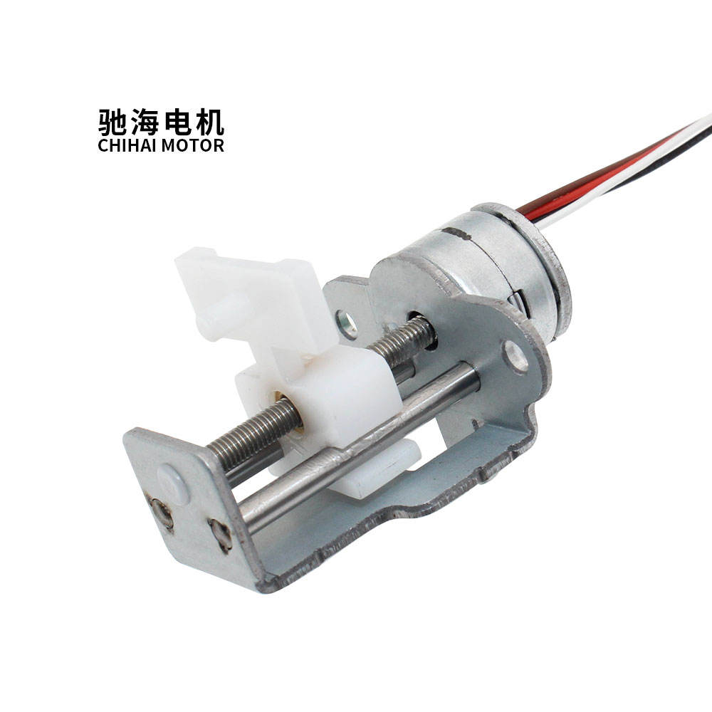 chihai motor CH-10BY-1557 DC 6.0V 10mm micro slider linear stepping motor screw motor with bracket