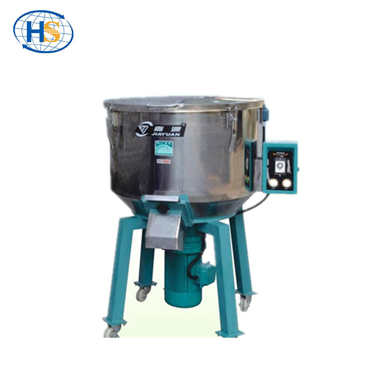 Full-auto Stainless Steel PP PVC PET ABS Industrial Plastic Vertical Color Mixer