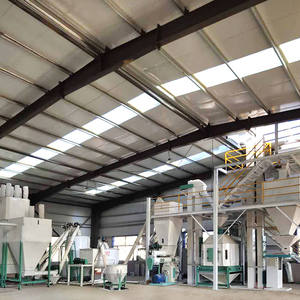 HNHF animal pellet feed mill 10 ton Concentrated feed production line