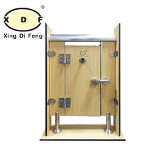Heavy Duty casting stainless steel 304 316 public toilet cubicle partition bathroom WC hardware series accessories