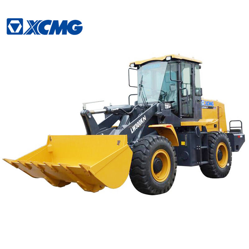 XCMG Official Manufacturer LW300KN front end 3ton mini wheel loader