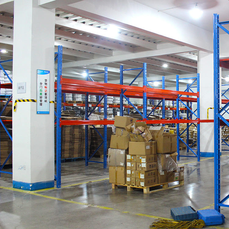 Storage Rack OEM Warehouse Storage System Material Handling Heavy Duty Steel Beam Pallet Rack