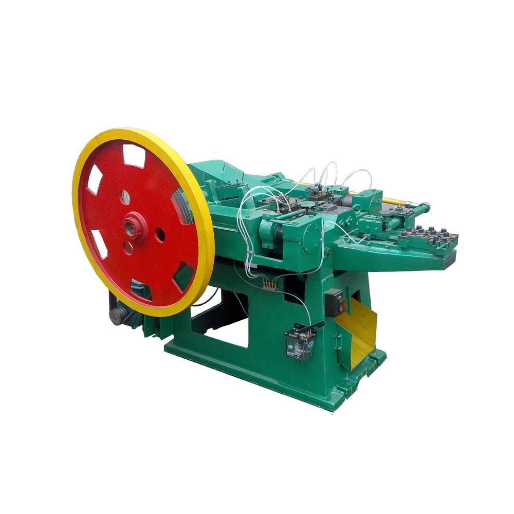 Fully automatic galvanized wire nail making machine