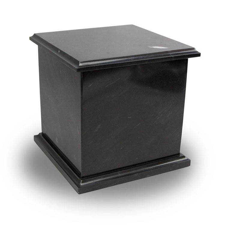 Wholesale Black Marble Headstone Cremation Urn