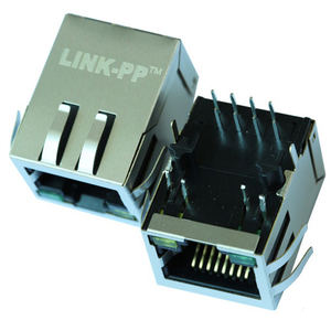 Single Port RJ45 Modular Jack Konektor LU1T516-43