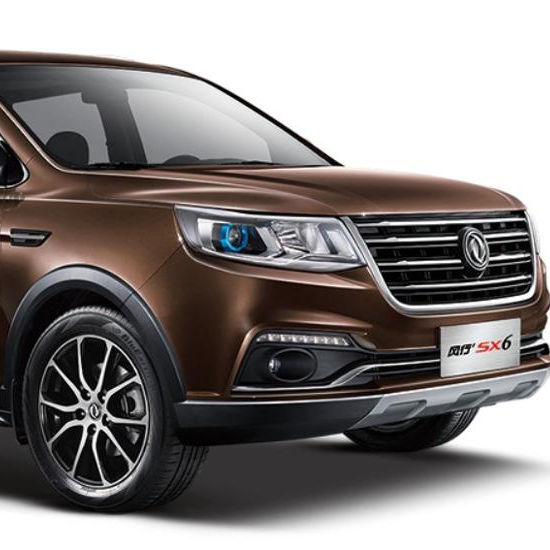 Dongfeng factory direct car auto suv JOYEAR SX6 with Euro V suv cars /car suv 1.6L for exporting