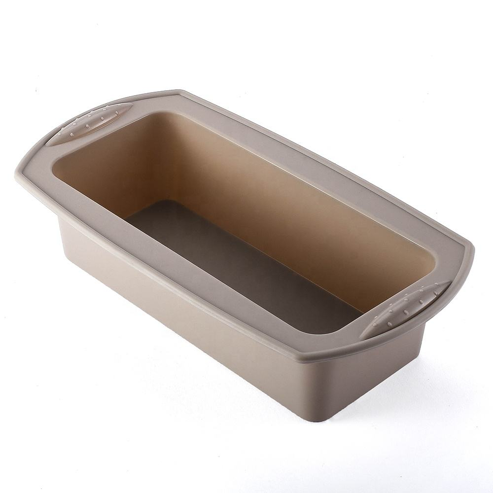 Microwave Baking Tray Nonstick Cake Pans Eco Silicone Loaf Pan For Baking