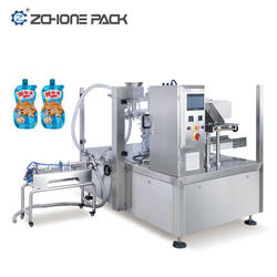 Multi Function Peanut Butter Filling Packaging Machine