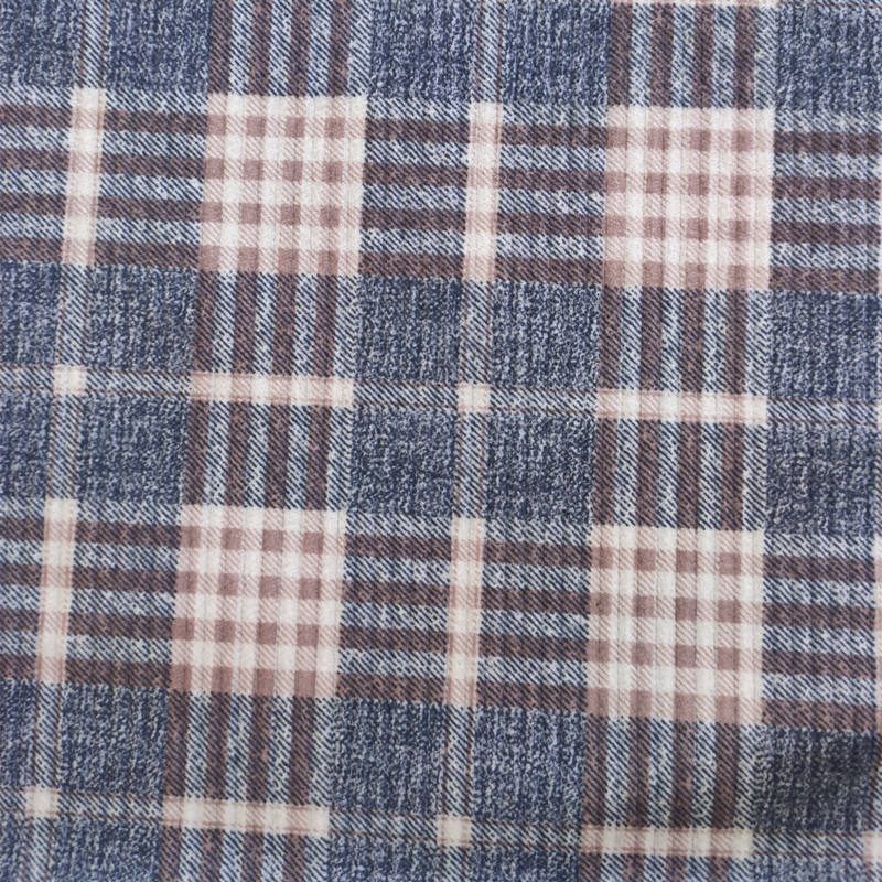 Hot selling school uniform plaid fabrics blackout curtains fabric material for clothes