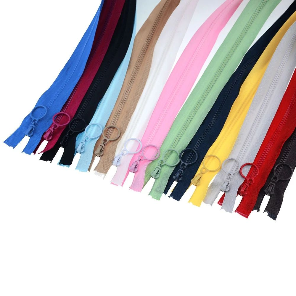 Sewing Decoration Children'S Clothing Colorful Zipper Opening Eco-Friendly Resin Zipper