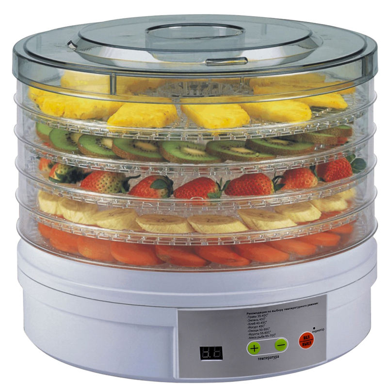 5 Layer Digitale Voedsel Dehydrator Machine Professionele <span class=keywords><strong>Elektrische</strong></span> Multi-Tier Eten Onderhouder Voor Vlees Of Rundvlees Fruit Groente Droger