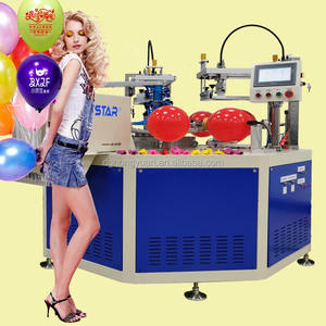 automatic latex balloon screen printing machine, balloon screen printer for sale