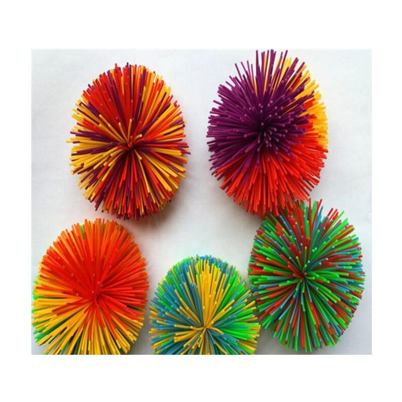 Custom Palle Koosh Regalo Multi-Color Arcobaleno <span class=keywords><strong>Splat</strong></span> <span class=keywords><strong>Sfera</strong></span>