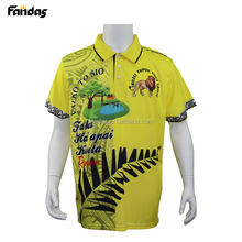 Custom team polo shirt sport jersey sublimated mens polo t shirt