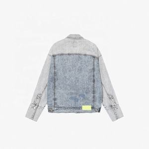 Oversized Boyfriend Jacket Jeans Denim Jaket Women