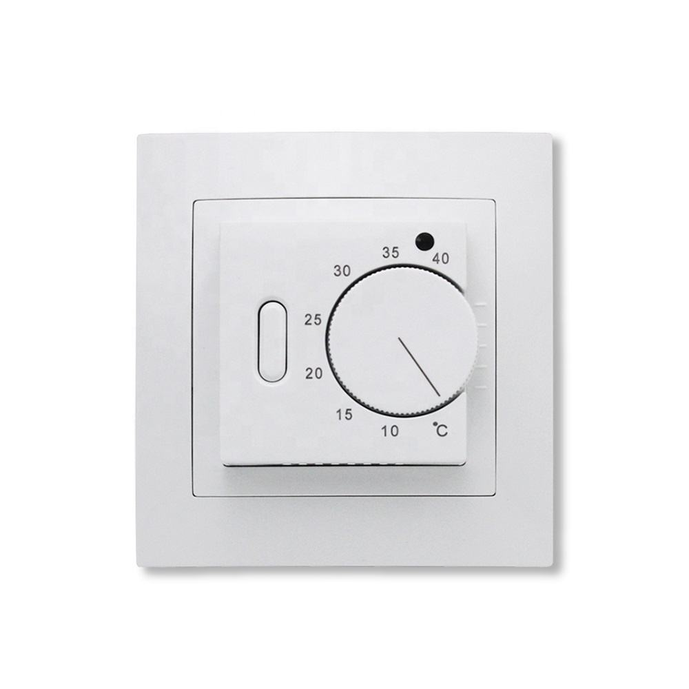 Factory price mechanical electric underfloor heating thermostat for radiant film