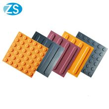 Flooring Customized Color Multy Dot Strip PVC TPU Blind Brick Tactile Title tiles