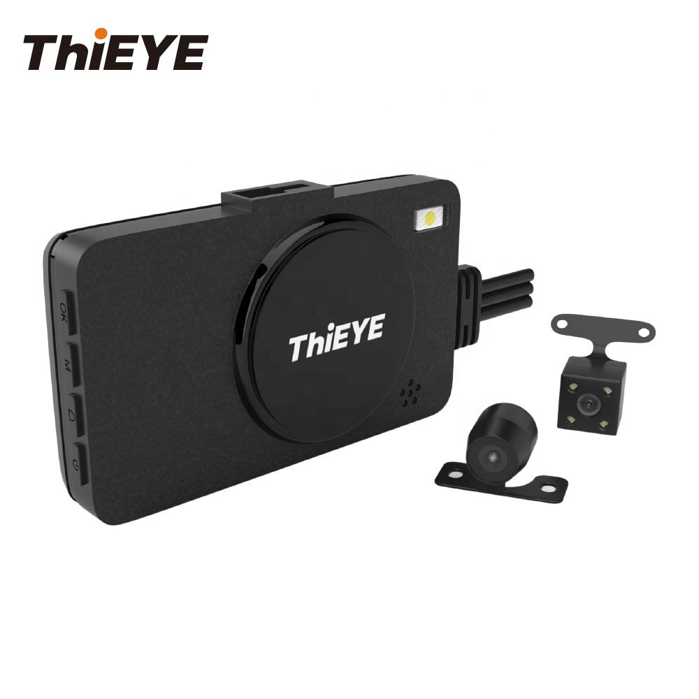 ThiEYE Motorcycle Dvr Motorcycle Camera Dvr Motorcycle Driving Recorder Dual Lens 1080p FHD Car Video Camera