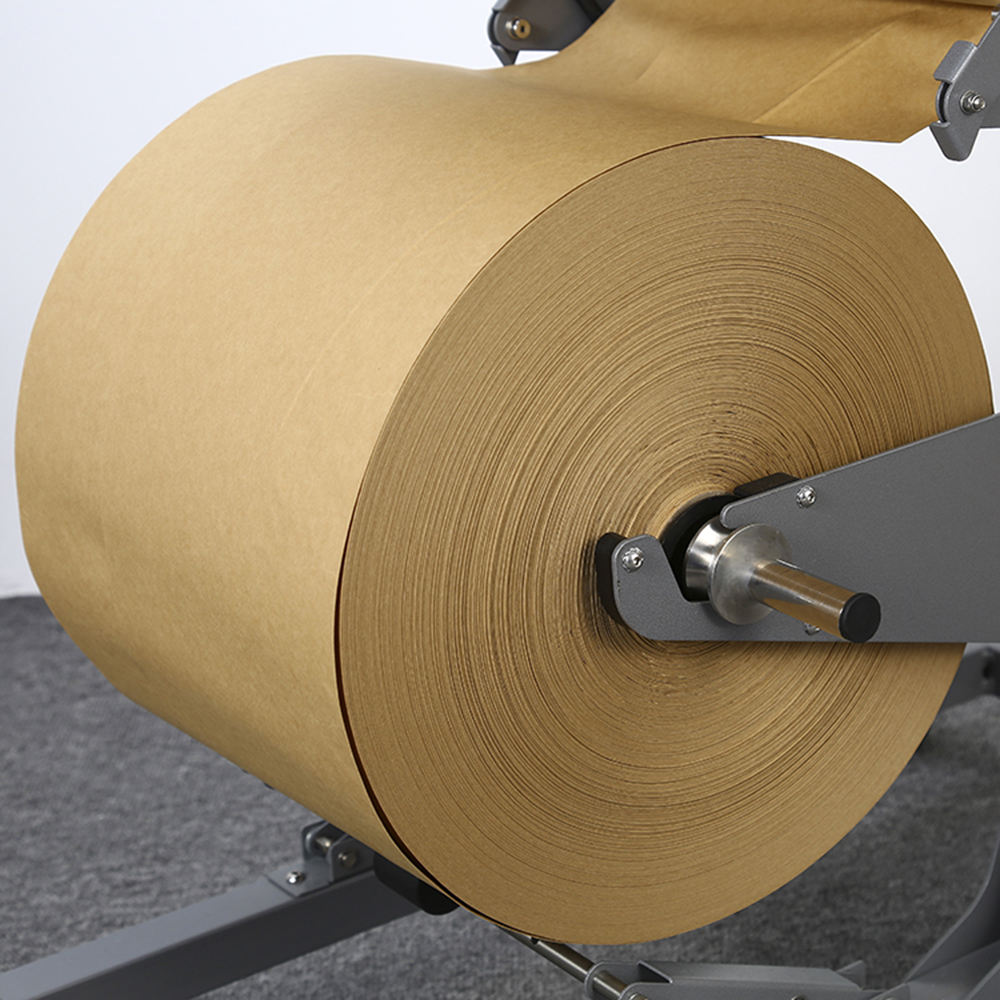 High Quality Oem White Kraft Brown 70Mm 80Gsm 90Gsm Printed White Kraft Paper Roll