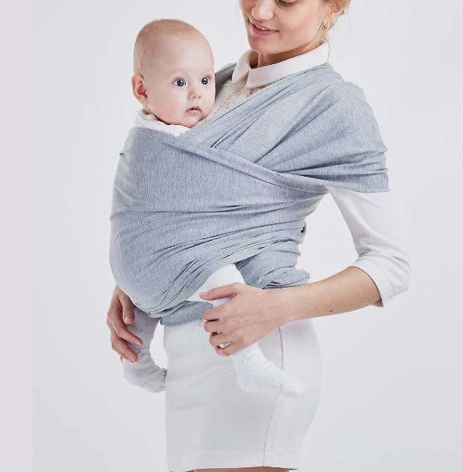 hot sell organic cotton baby sling wrap elastic baby carrier