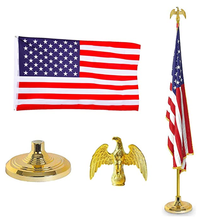 Flag Pole Kits Indoor/Outdoor Aluminium flag pole