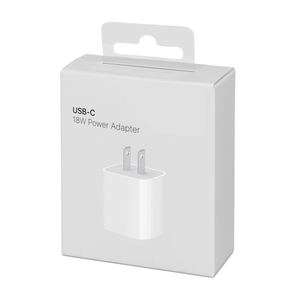 OEM Quality 18w Charger USB C Power Adapter for iPhone 11 Pro Max XS XR Super fast charging Wall Charger