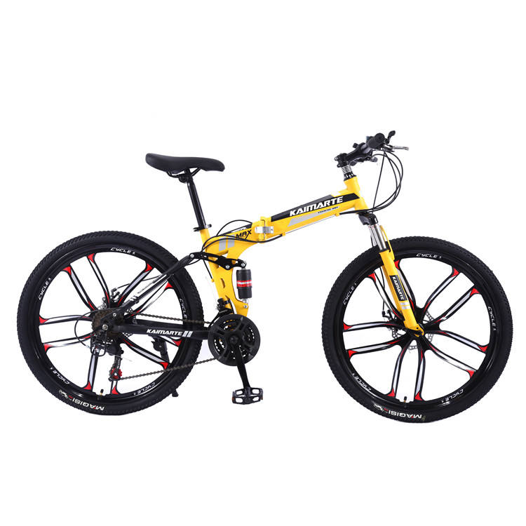 OEM full suspension mountainbike 21 speed new model carbon road bike /cheap mtb folding bike 26 inch