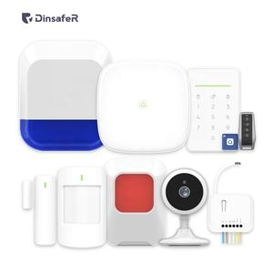 Anti-theft 4g 3g 2g wifi lan gsm home alarm system kit