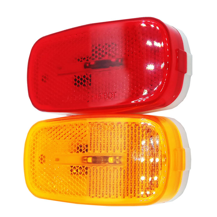 E-mark led tractor lamp 12v side marker lights for trucks with highly quality