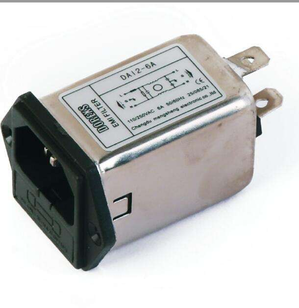 DAI2 6A EMI Filter with Fuse