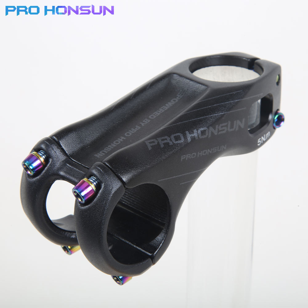 PRO HONSUN CNC Aluminum Alloy Road/Mountain Bicycle Stem 70MM/90MM 31.8*28.6MM XC MTB AM Bicycle Handlebar Stems Parts