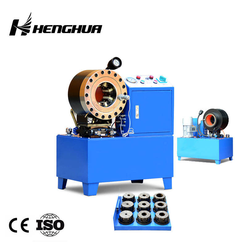 "Hydraulic Hose Crimping Machine 6 Core Patents 5 Second Press DX68 DX69 1/4""-2"" High Pressure Hydraulic Pipe Rubber Hose Crimping Machine Hose Pressing Machine"