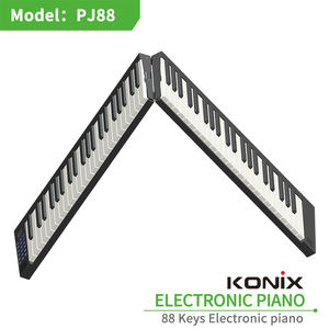 New item folded electronic piano portable piano 88 keys MIDI keyboard USB piano easy to carry to anywhere