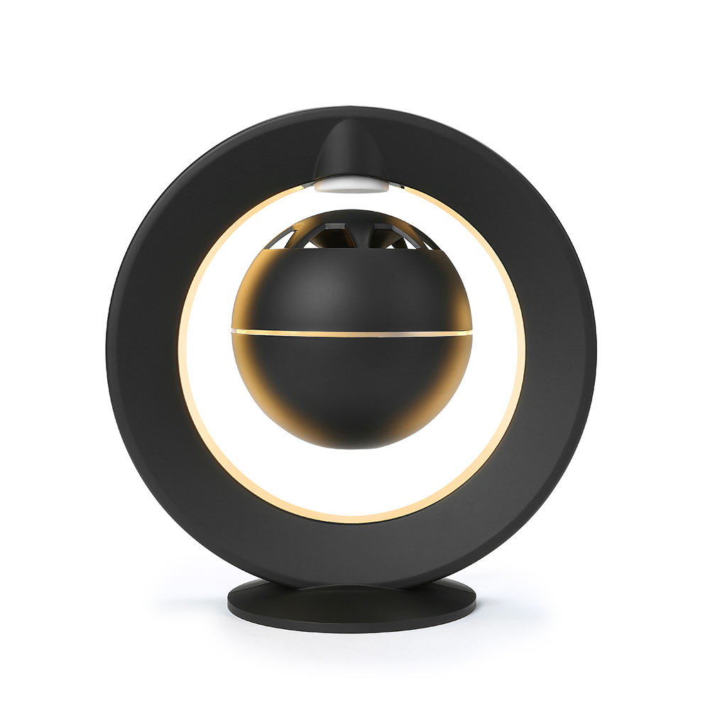 Magnetic Levitating Wireless Speaker with Led Light and 360 Degree Rotating