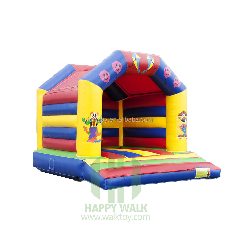 HI Good Sale bouncy castle , jolly jumper ,inflatable bouncy castle with slide