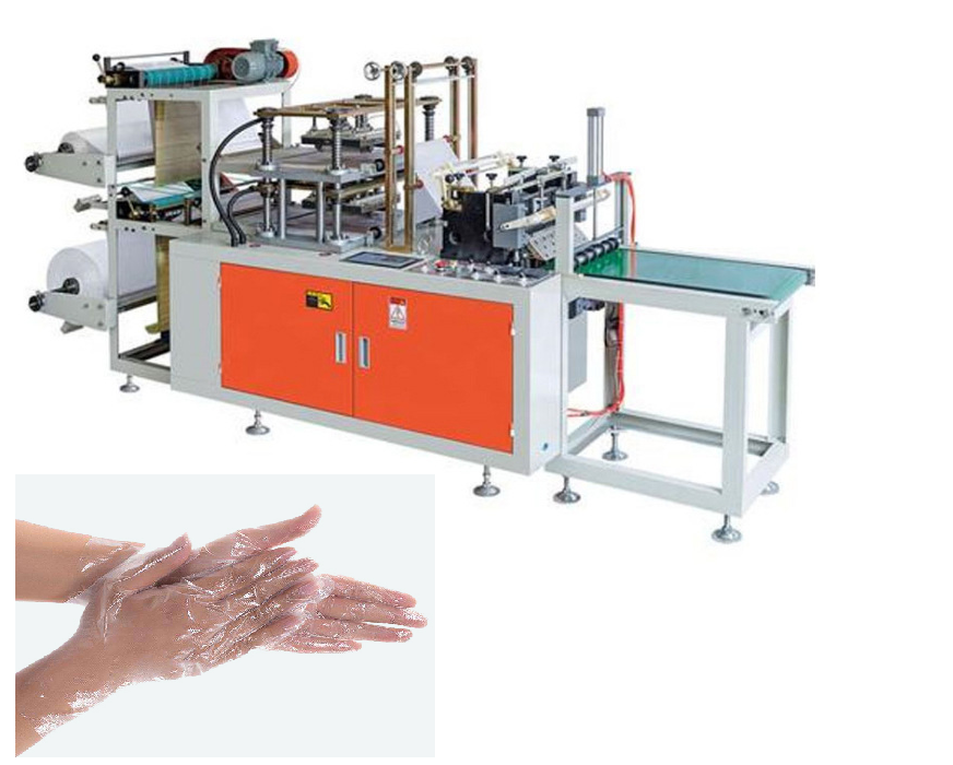 Automatic pvc glove machine gloves plastic machine plastic bag making machine
