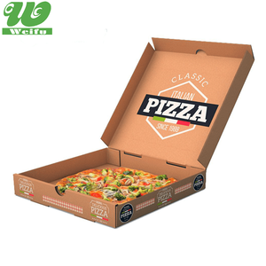Boxs Modern Carton Pack Line Disposable Food Pizza-boxes Takeaway Pizza Box For A Pizza